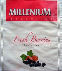 Millenium Exclusive Fruit Tea Fresh Berries - a