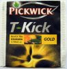 Pickwick 2 T-Kick Black Tea Guarana Citrus Gold - a