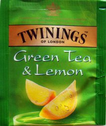 Twinings F Green Tea and Lemon - a