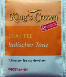 Rossmann King´s Crown Wellness Chai Tee Indischer Tanz - a
