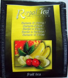 Royal Tea Exclusive Fruit tea Banán a třešeň - a